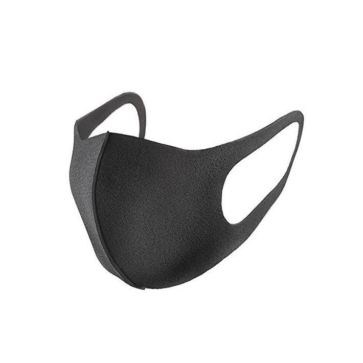 出貨 PITTA MASK 可水洗立體口罩防霧霾花粉塵蟎粉塵黑色3 入裝