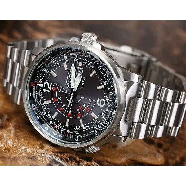 光動能Eco Drive 多國時區飛行鋼帶錶精鋼黑盤 專櫃包裝