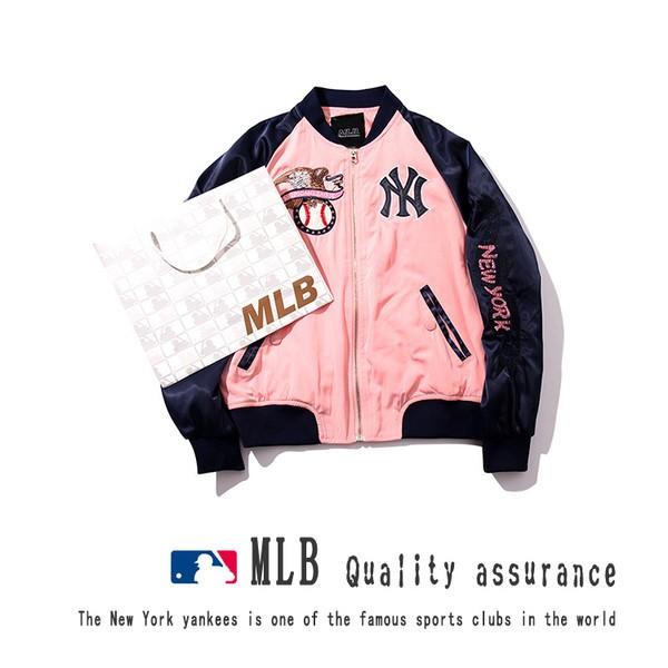 爆款❤️MLB 韓國刺繡棒球外套 超棒