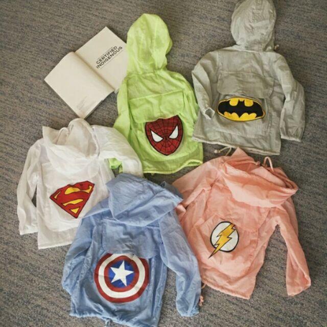 幼兒中小童防曬衣服男童背包防曬衣薄款防曬外套