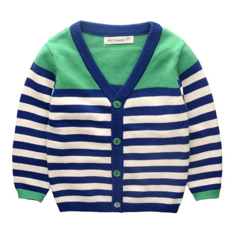 春裝 男童寶寶針織開襟外套毛衣外套薄外套