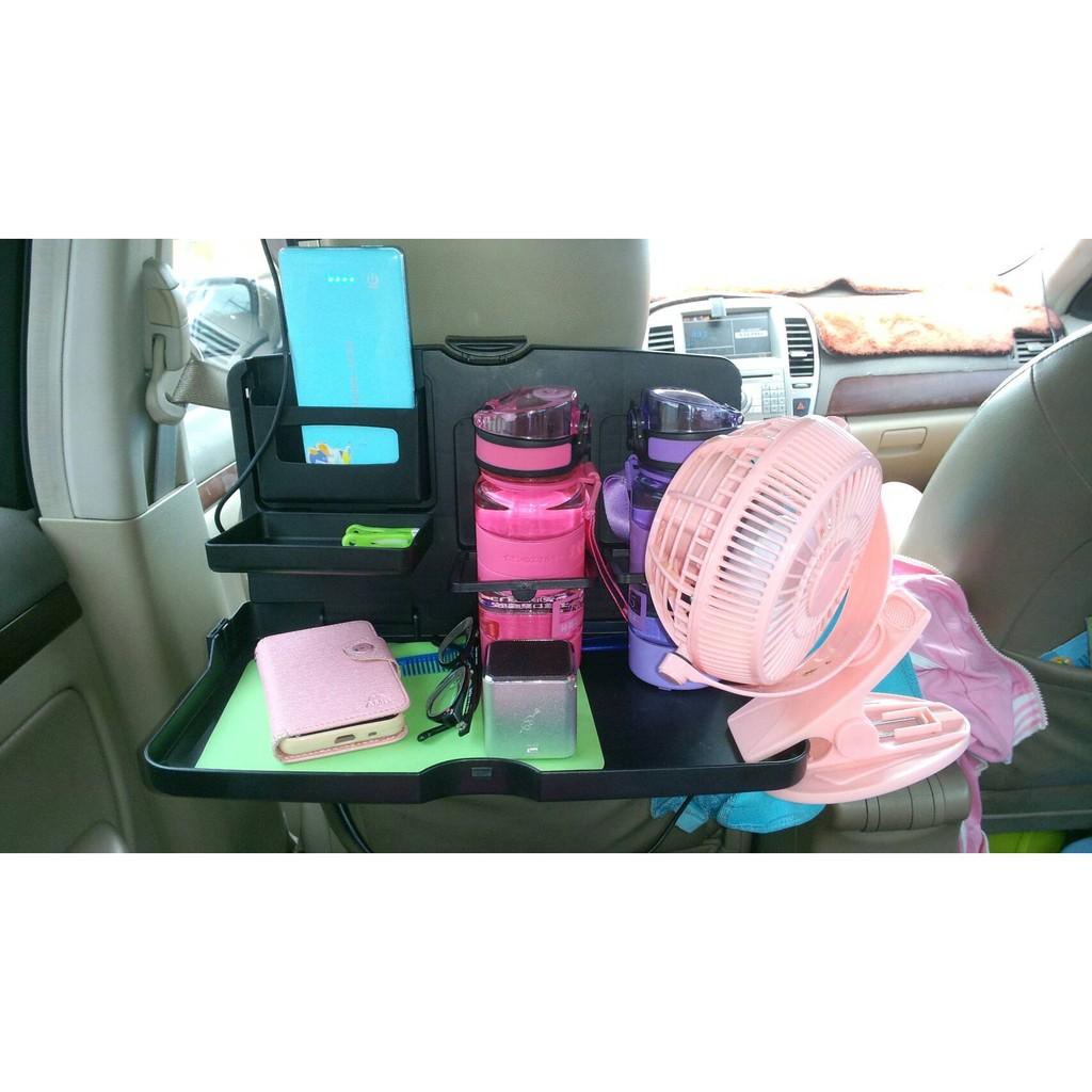 1 舜威SD 1503 汽車後背可折疊大餐盤桌置物架2 多 水杯架手機架飲料架3 夾縫盒書