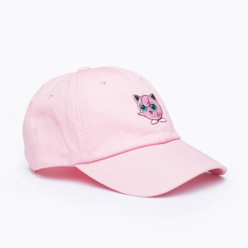 英國Hype x Pok émon Jigglypuff 胖丁粉紅老帽