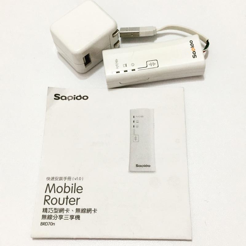 Sapido 精巧型網卡無線網卡無線分享三享機