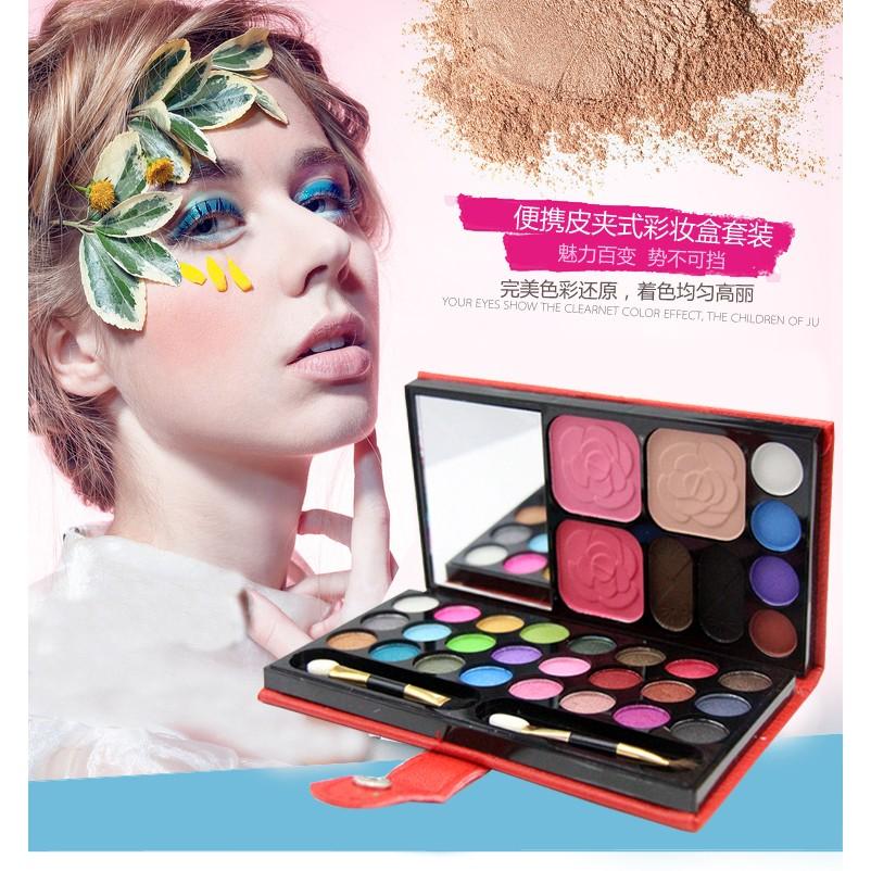 33 色眼影盤彩妝盤眼影盒裸妝珠光啞光