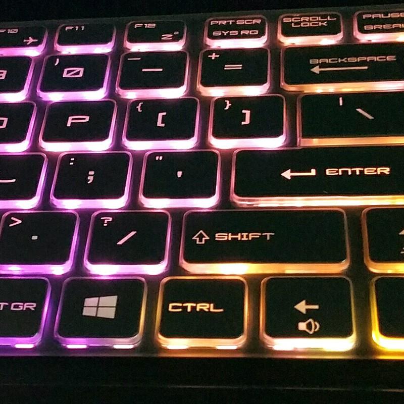 微星MSI鍵盤膜✿微星GE60 63VR GS60 GL62M GP62電腦GE62/72VR筆記本GF63鍵盤保護貼膜