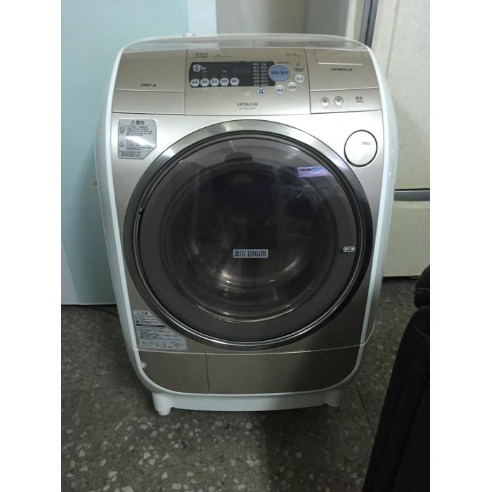 HITACHI 日立變頻洗脫烘滾筒洗衣機省電洗衣11 公斤烘衣8 公斤