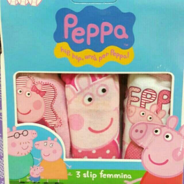 兒童純棉卡通內褲佩佩豬款