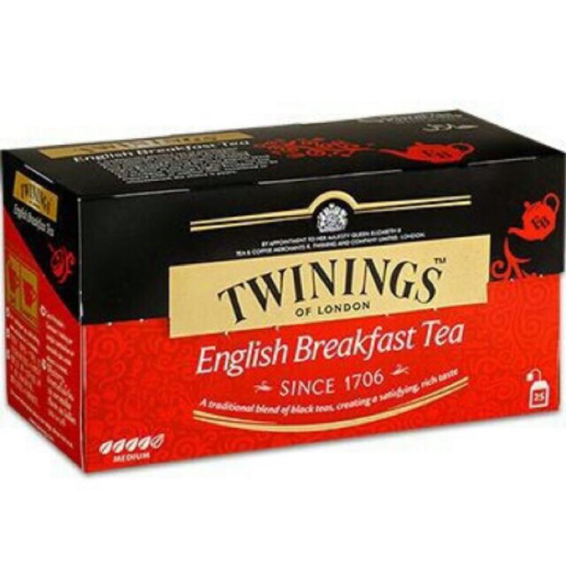 Twinings 唐寧英倫早餐茶2g 25 入盒