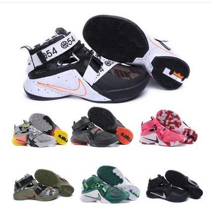男鞋Zoom Soldier LBJ9 詹姆斯士兵9 代籃球鞋雪碧戰士LEE 籃球鞋鴛鴦配