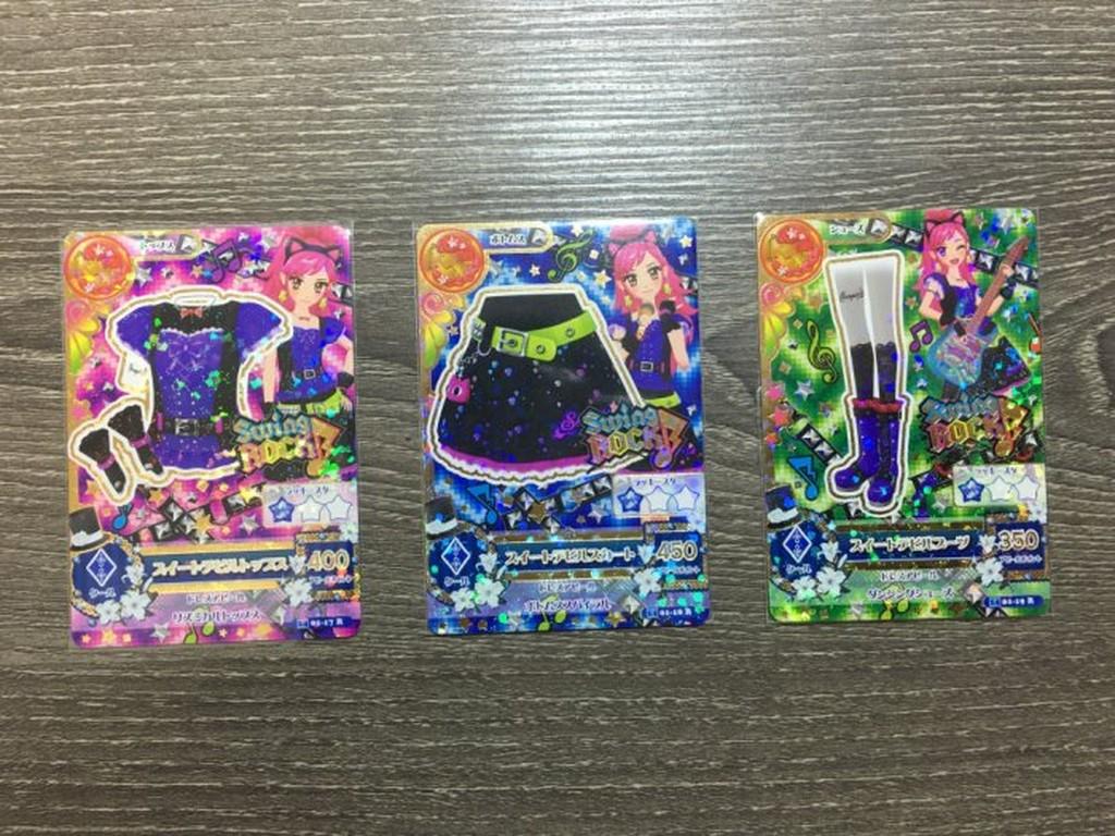 台卡Aikatsu 偶像學園第二季第1 彈第一彈賽拉星羅甜蜜小惡魔R 套組台卡 未刷