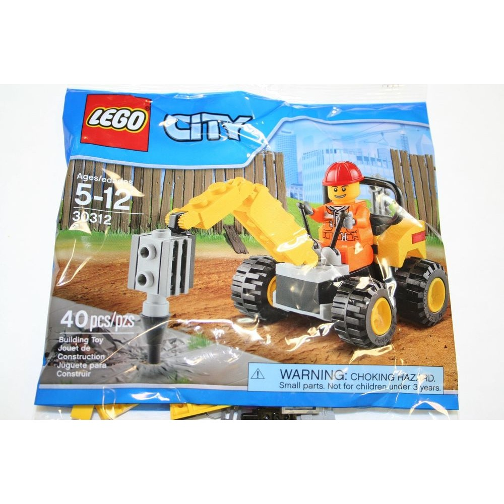 美國找我買Lego City 30312 Demolition Driller 小小鑽地機