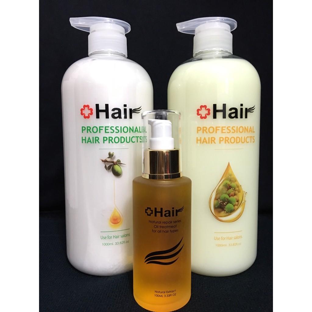 沙龍級Hair 有機摩洛哥黃金果油洗髮乳潤髮乳護髮油組可單買5 組9 折