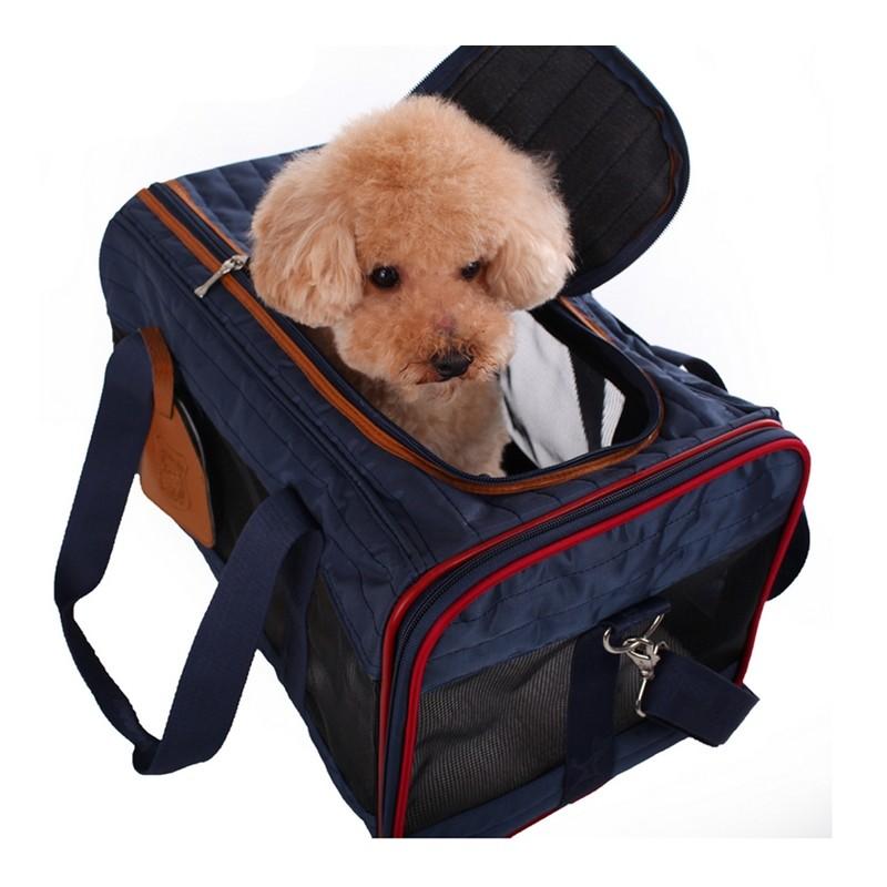 ~黑貓宅配~Jeerui M 碼寵物便攜外出包美國寵物協會指定旅行包狗狗透氣單肩包