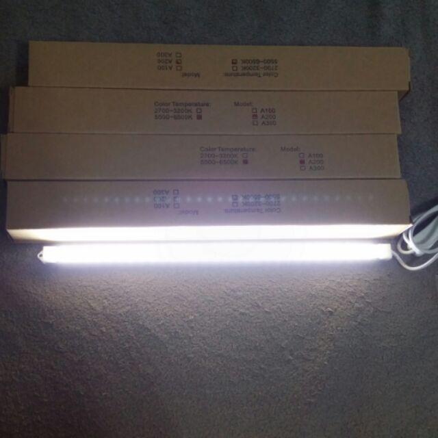 LED 10 40 顆暖白光自然光線控開關LED USB 燈條USB 檯燈拍照攝影棚棚燈補