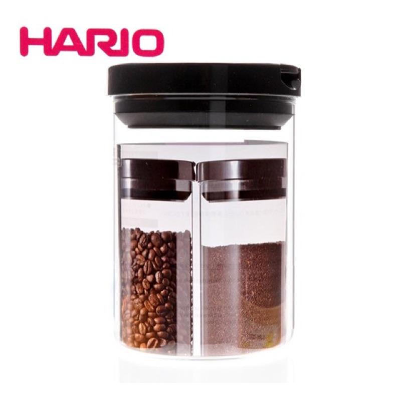 HARIO MCN 200B 咖啡透明儲豆罐密封罐咖啡豆玻璃密封罐800ml 售1000m