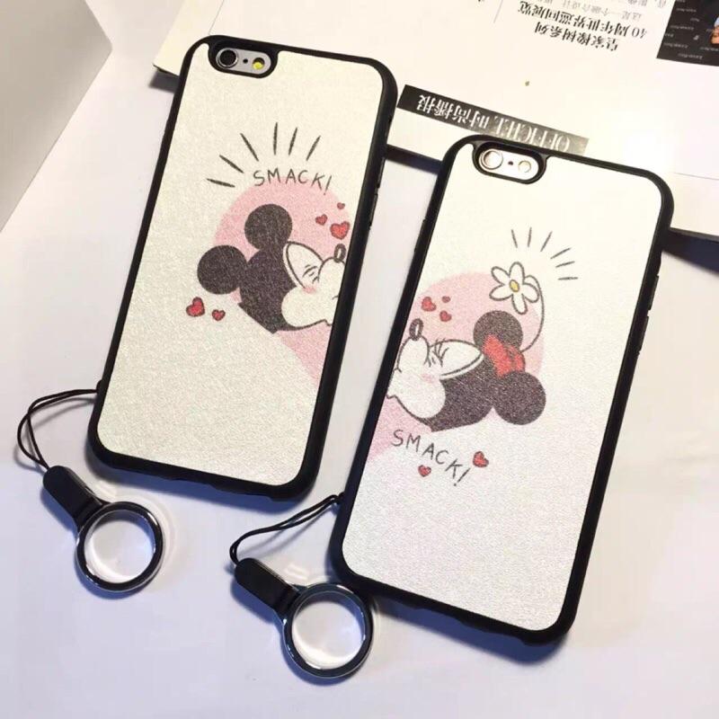 ~部分 ~卡通情侶蘋果iphone5 5s se 手機殼i6p 6plus5 5 全包軟殼