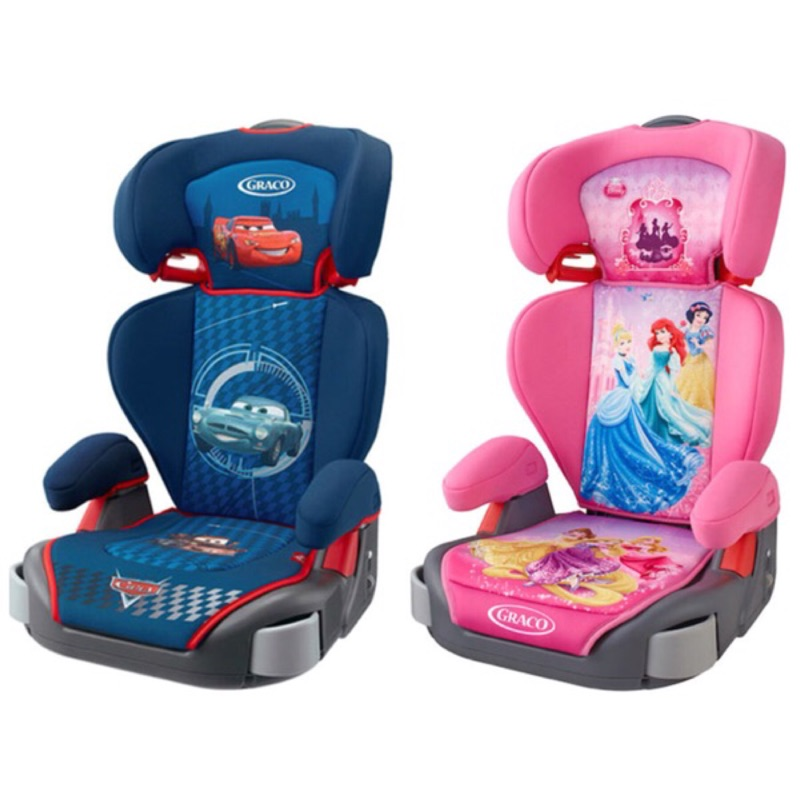 GRACO Cars 麥坤迪士尼公主幼兒成長型汽車安全座椅兒童座椅汽座汽車座椅安全座椅