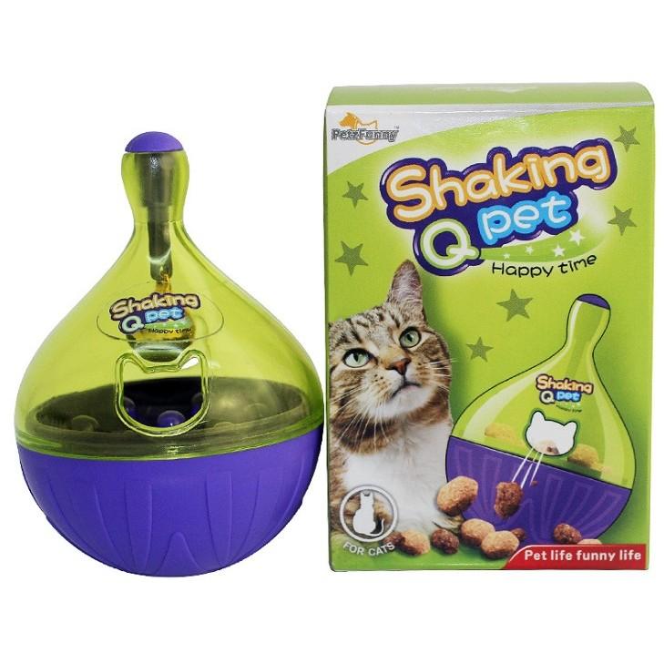 Pet Funny 貓狗玩具寵物不倒翁漏食玩具貓咪