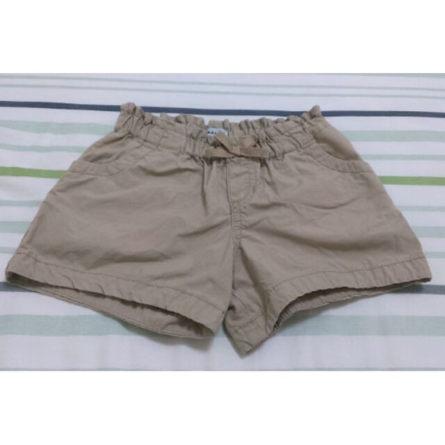 Old navy 女童卡其短褲4T