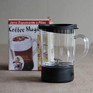 ~ 120 元~COFFEE MAGIC !迷你電動式奶泡咖啡自動攪拌杯打奶泡機奶昔攪拌馬