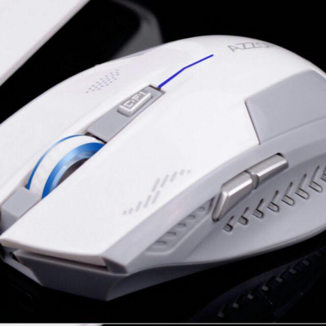 卡佐極光神鷹無聲靜音省電n n 自帶鋰電池可充電遊戲無線鼠標