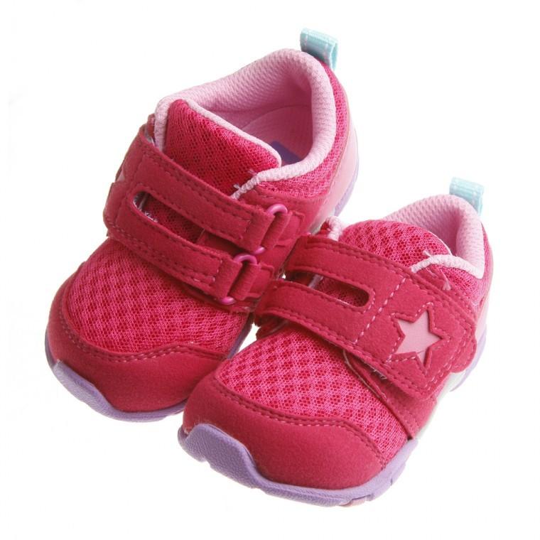 蘿琳❤正品❤Moonstar Carrot 櫻桃之星透氣止滑寶寶機能學步鞋