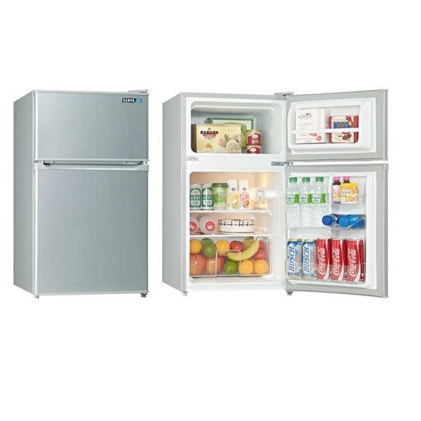 賣家SAMPO 聲寶一級省電定頻節能小冰箱SR P10G 100 公升
