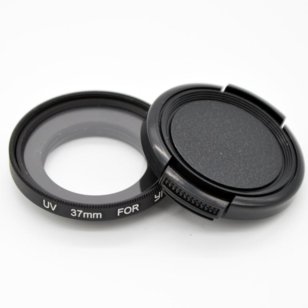 小蟻37mm UV 濾鏡轉接環鏡頭蓋三合一套裝 小蟻 相機 小蟻 保護鏡頭