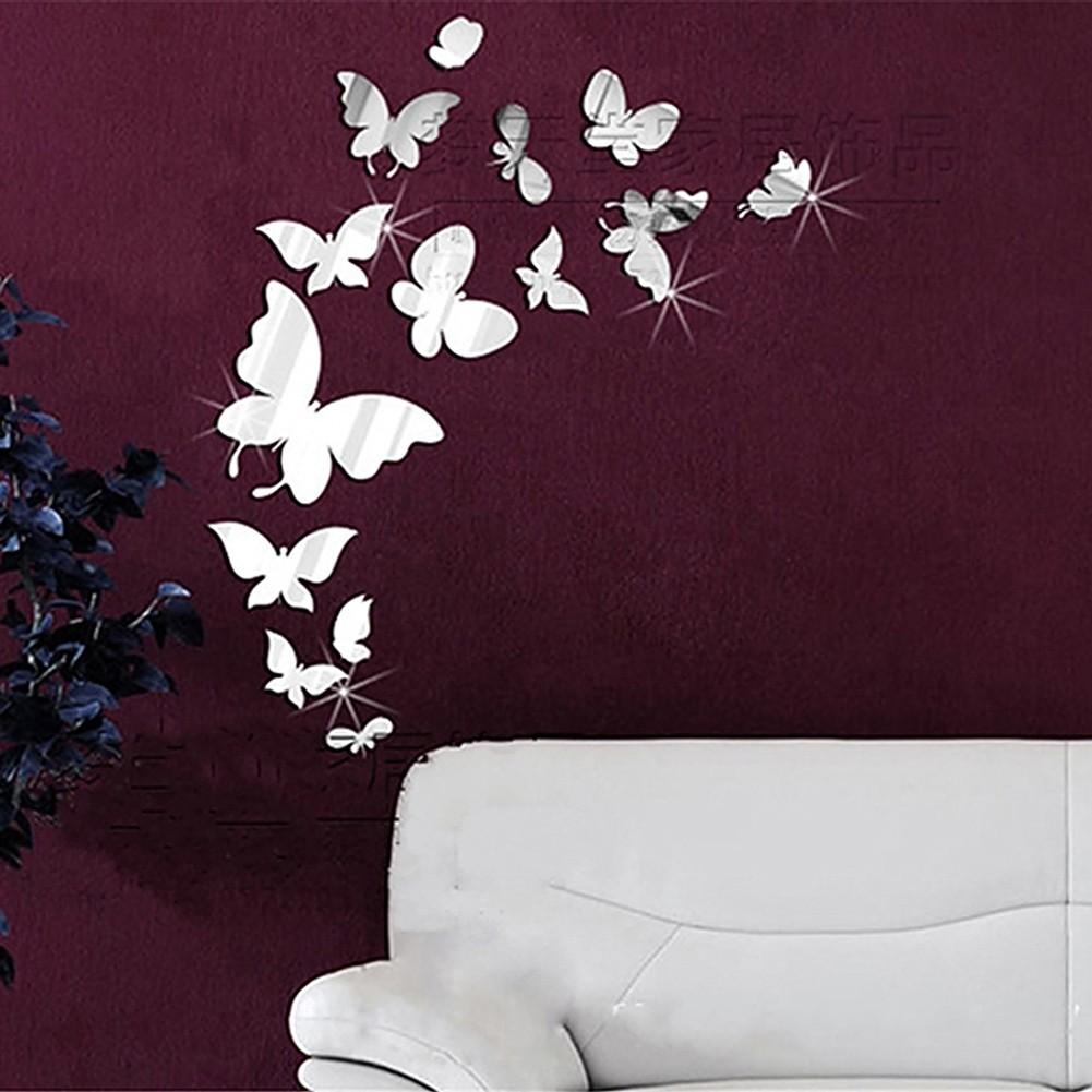 DIY 3D 蝴蝶貼花裝飾