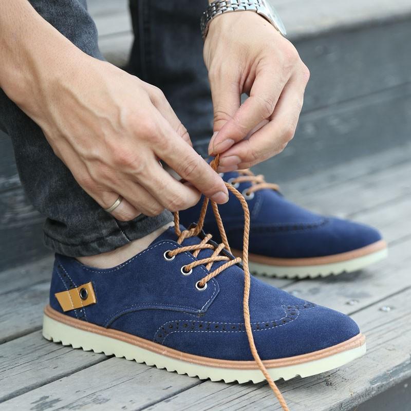男士磨砂休閒鞋潮流布洛克板鞋英倫皮鞋復古男鞋林彎彎潮鞋高跟鞋單鞋豆豆鞋涼鞋懶人鞋