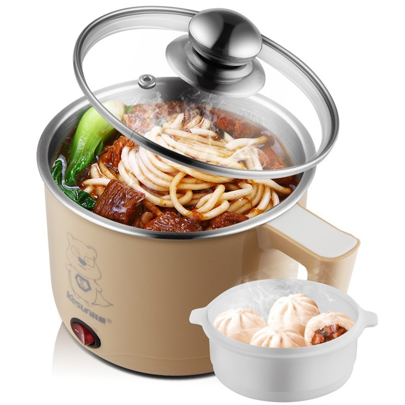 多 電煮鍋迷你電熱鍋學生宿舍煮面鍋電火鍋家用電鍋電熱杯
