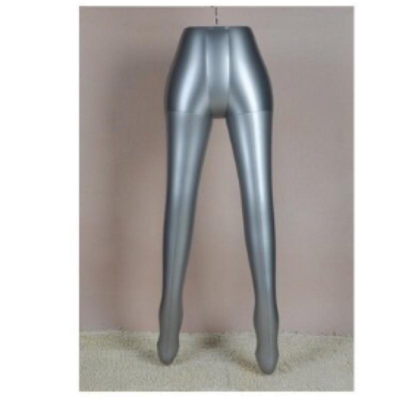 ❤️ ❤️B07 女生褲腳充氣模特兒夜市擺地攤展示架服飾店衣架櫥窗擺飾道具網拍模特兒