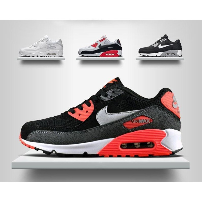 ~酷姐 ~耐吉Nike Air Max 90 耐吉跑步鞋氣墊鞋男女 鞋增高鞋緩震慢跑休閒鞋
