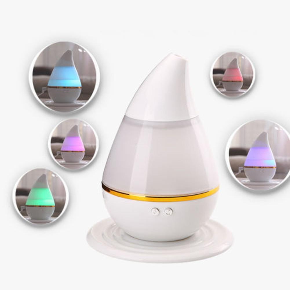 7 彩LED 燈噴霧式水氧機負離子香薰機水溶性精油加濕器室內芳香除臭防塵