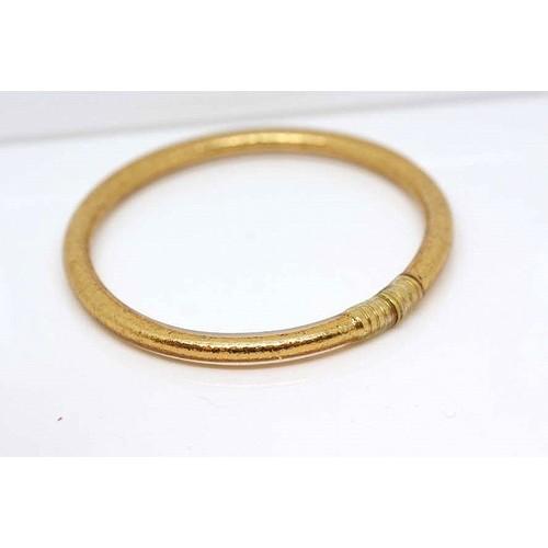 泰國聖物招財金箔手環