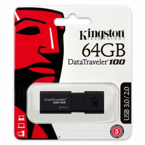 附發票 64GB 64G 金士頓 DT100 G3 DT100G3 USB 3.0 隨身碟 64G KINGSTON