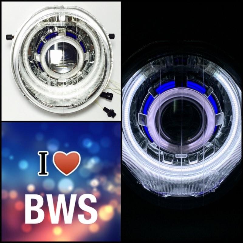 7 號工廠BWS 魚眼大燈全配白藍多層次E46 大U CCFL 冷極管光圈非LED BWS