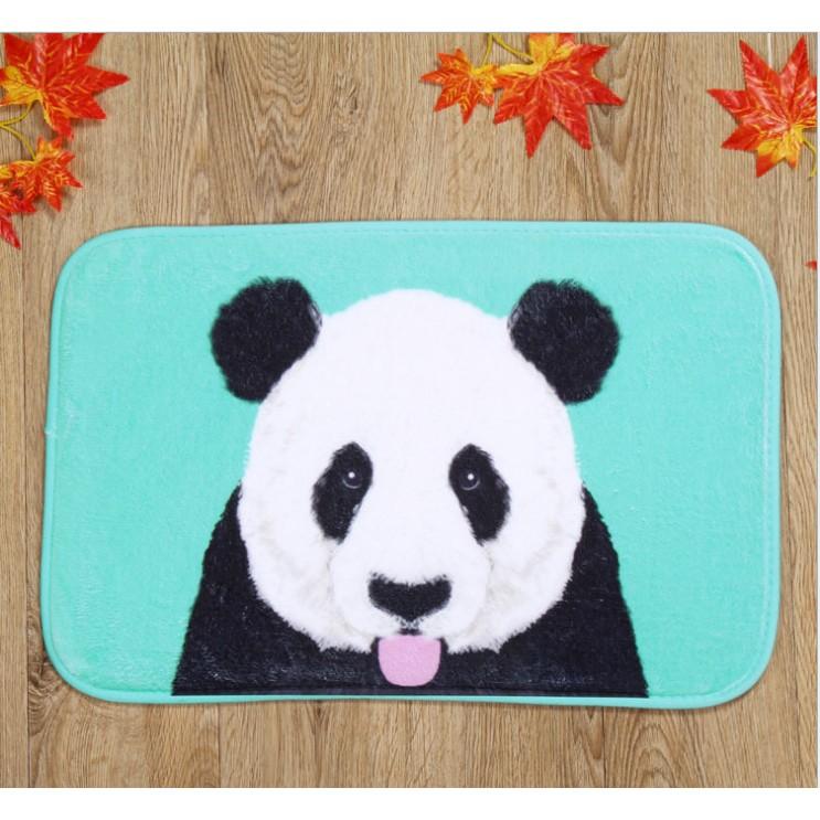 ~ ~ 特殊圖案地墊地毯腳踏墊多款 搞怪可愛骷髏熊貓斑馬字母動物珊瑚絨