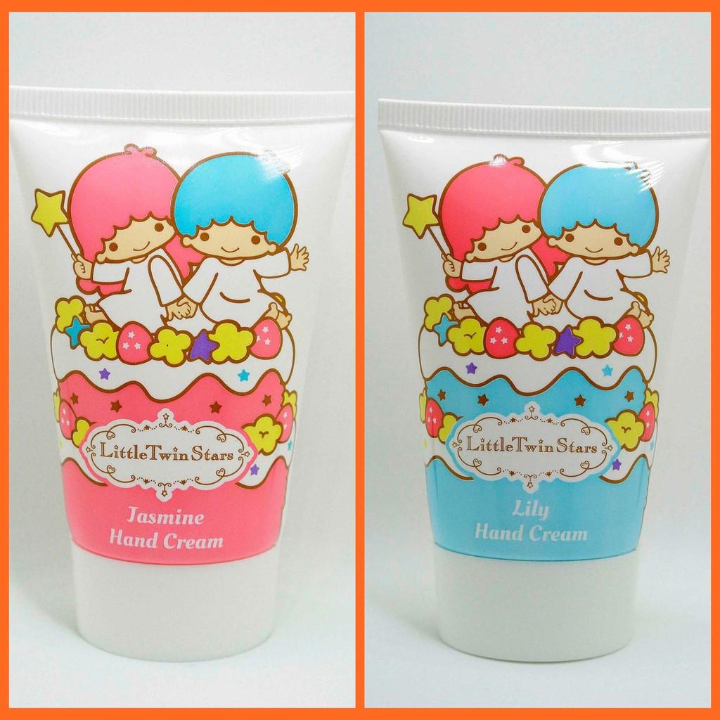 HBD 香港Sanrio 三麗鷗雙子星百合花及茉莉花潤手霜各一支 正貨