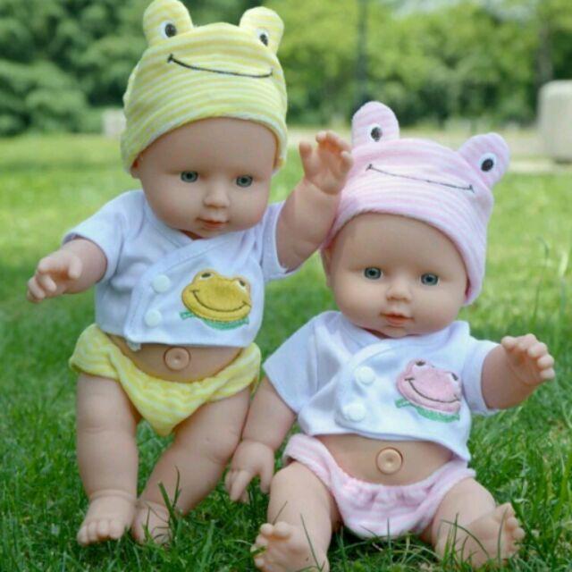 正品會說話仿真嬰兒娃娃重生洋娃娃全軟膠寶寶家政早教親子兒童玩具( )兒童玩具