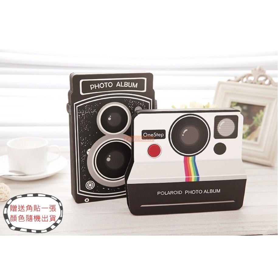 拍立得復古相機 相簿DIY 粘貼相冊黏貼相本~送角貼~畢業 冊寶寶成長手作記錄EXC