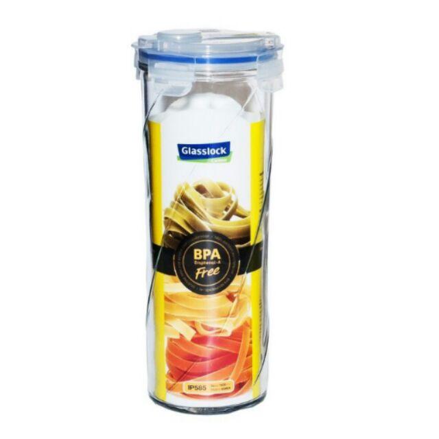 ~Glasslock ~斜紋密封保鮮罐冷水壺兩用瓶義大利麵罐1600ml IP585 54