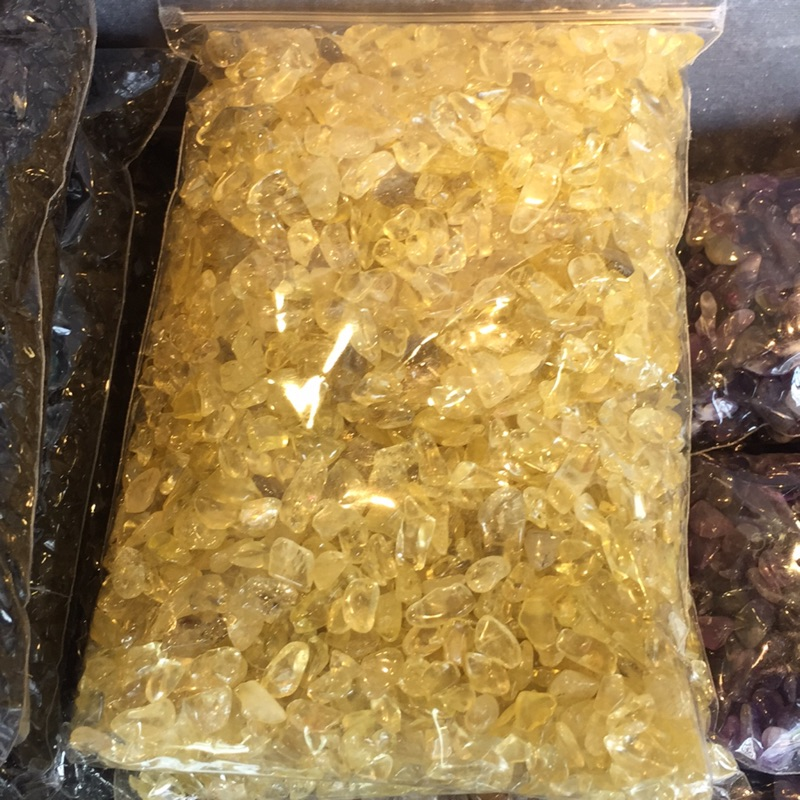 招財黃水晶碎石1 公斤