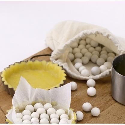 ~禎巧妙~派石烘焙用重石派盤撻盤石歐包蒸汽石500g 送小布袋耐高溫無雜質