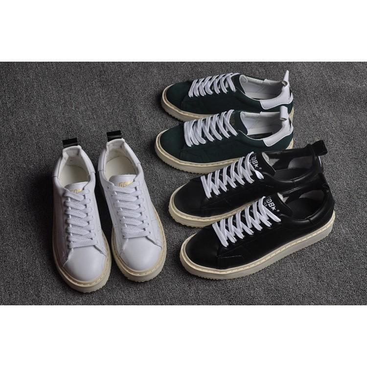 Goldengoose 15 秋 內增高GGDB 小白鞋文根英同款36 44 情侶款黑色