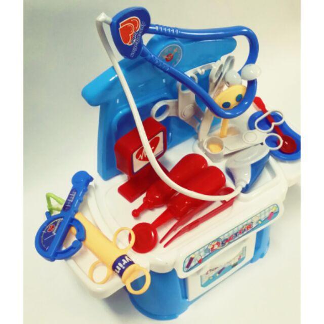 兒童仿真過家家醫具箱玩具醫生工具箱套裝