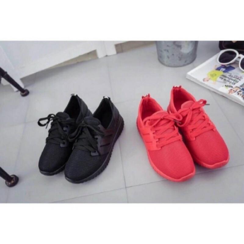 空運來台 399 199 鞋慢跑鞋韓妞最愛黑紅 鞋