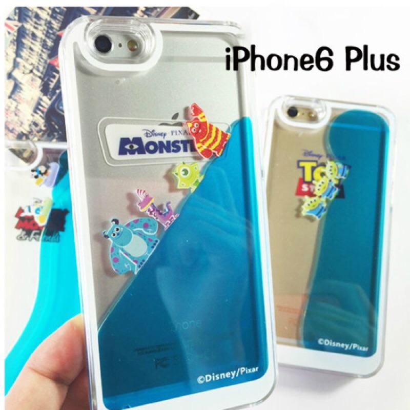 iphone6 6s 迪士尼流沙硬殼流沙手機殼液體手機殼iphone6plus 6splu