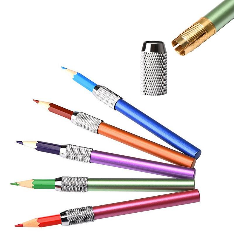 5 支分類顏色鉛筆延長器支架